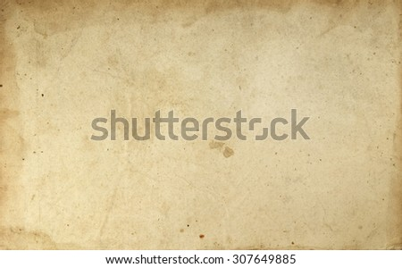 Blank old book page texture - stock photo