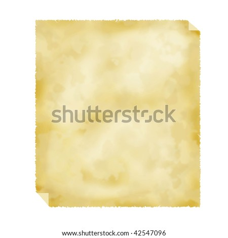 blank old paper - stock photo