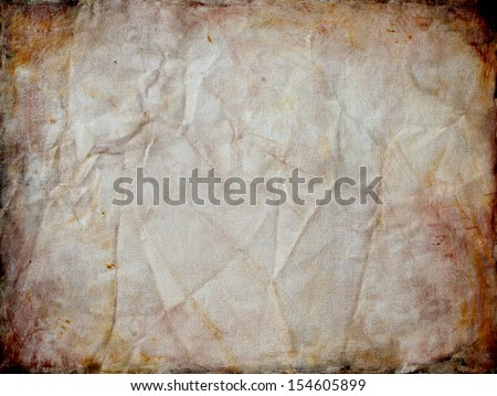 blank old paper vintage background texture for rustic country western or ancient manuscript with creased and cracked edge illustration
