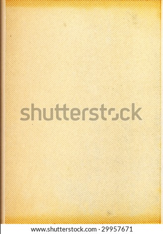 Blank page of a vintage photo album - stock photo