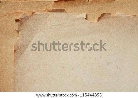 blank page of old book background. - stock photo
