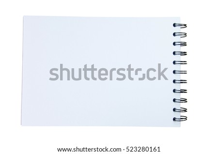 Blank Paper Table On White Background Photo 87155542 – Blank Paper Background