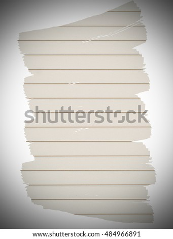 blank paper notebook for text background and Vignette border style
