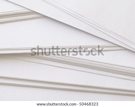 blank papers - stock photo