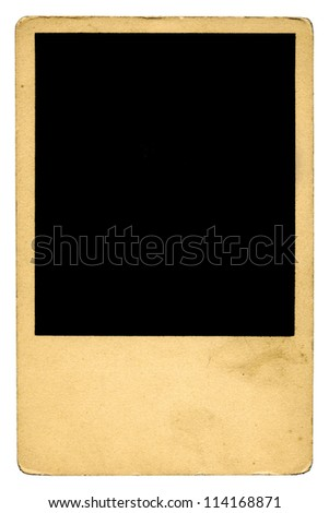 Blank Picture Vintage Photo Frame