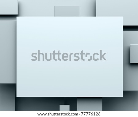 blank pictures - stock photo
