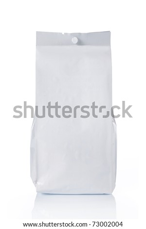 blank plastic food pack, ready for your design - stock photo