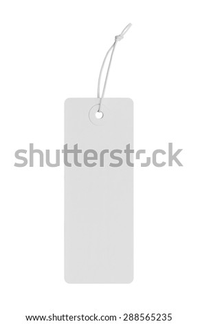 Blank price Label - stock photo