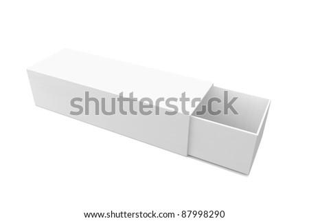 Blank software box - stock photo
