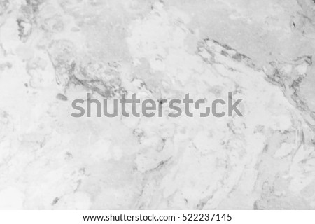Blank space on  the white marble surface