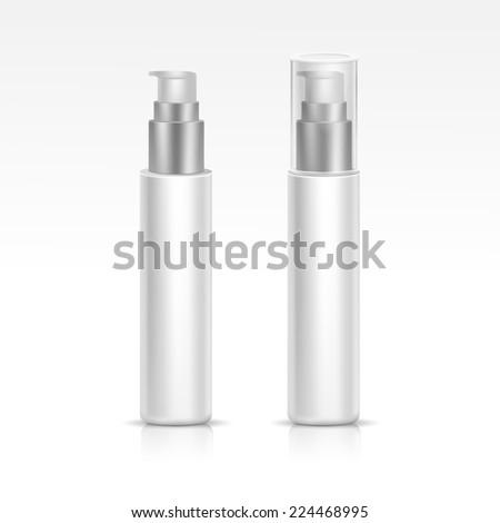 Blank Spray Bottle - stock photo
