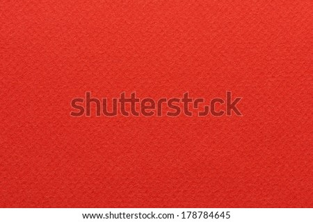 Blank textured red paper background - stock photo