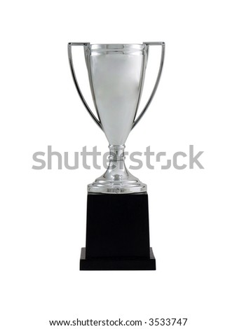 Blank Trophy - stock photo