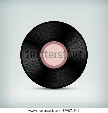 blank vinyl record template stock illustration 399071941 shutterstock