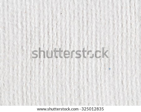 Blank white hand-made  paper background - stock photo