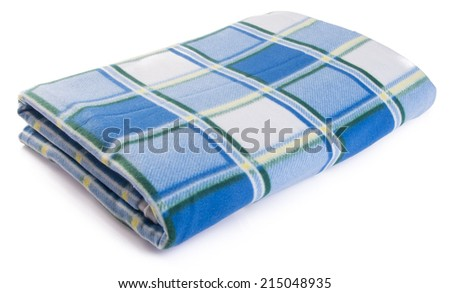blanket. blanket on the background. - stock photo