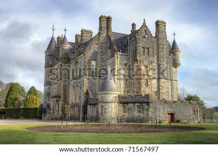 Blarney House, Ireland. - stock photo