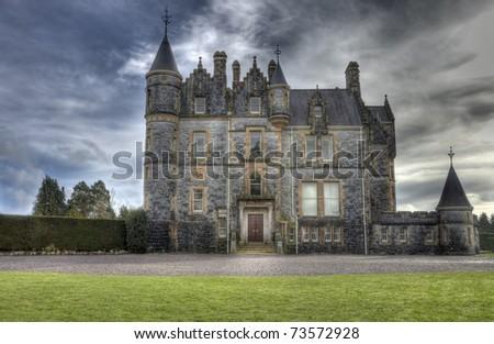 Blarney House, Ireland - hdr image. - stock photo