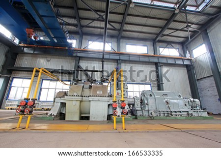blast furnace TRT Unit in a power plant, north china