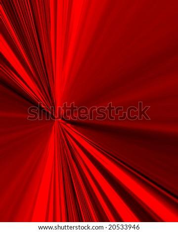 Blast Of Red - stock photo