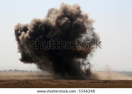 Blast off - stock photo