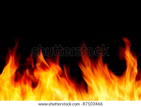 blaze, - stock photo