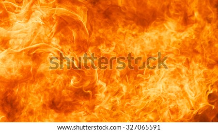 blaze fire flame texture background in 16 x 9 ratio - stock photo