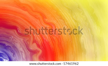 Blending watercolor (1) ratio 16:9 suitable for widescreen monitor - stock photo