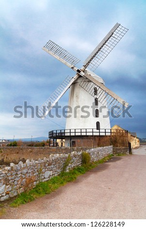 Blennerville Windmill in Tralee - Co. Kerry - Ireland