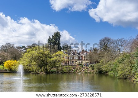 Bletchley Park in Buckinghamshire the home of code breaking in WW2 - stock photo