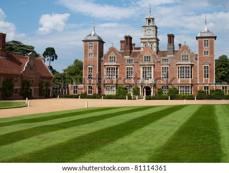 Blickling Hall.  Public house in Norfolk, United Kingdom - stock photo