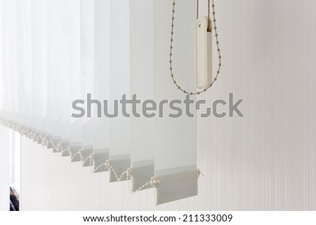 Blind for ofiice - stock photo