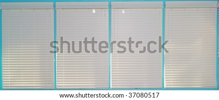 blinds - stock photo