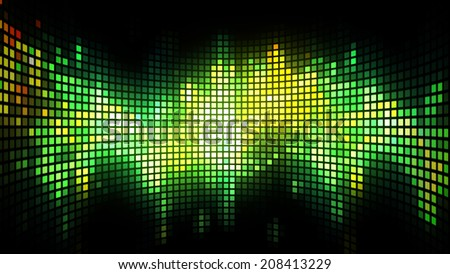 Blinking LED abstract background for party,holidays,fashion,dance and celebration. 8K Ultra HD Resolution at 300dpi.