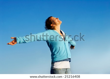 Bliss - stock photo