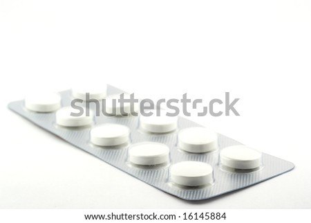 Blister with tablets