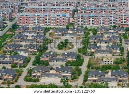 Block of Condominiums - stock photo