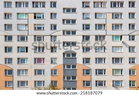 Block of flats - stock photo