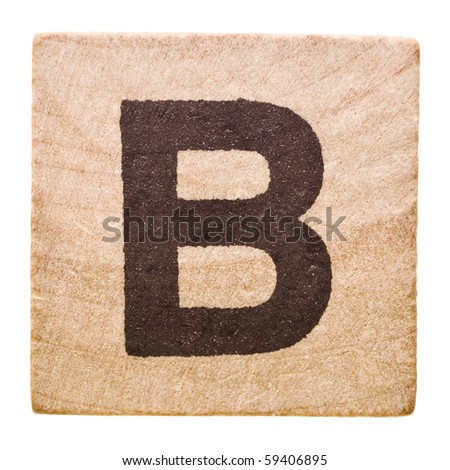 b block letter block letter b isolated on white stock photo 59406895 20537