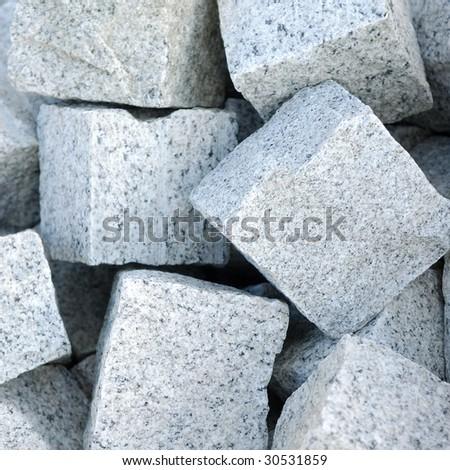 Granite Stone Blocks Blocks of Granite Stone