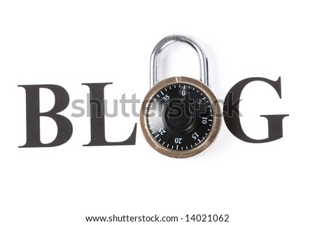 Blog andlock, internet Diary security and privacy
