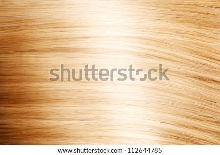 Blonde Hair. Blond Hair Texture - stock photo