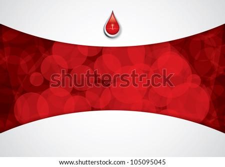 Blood donation.Medical background - stock photo