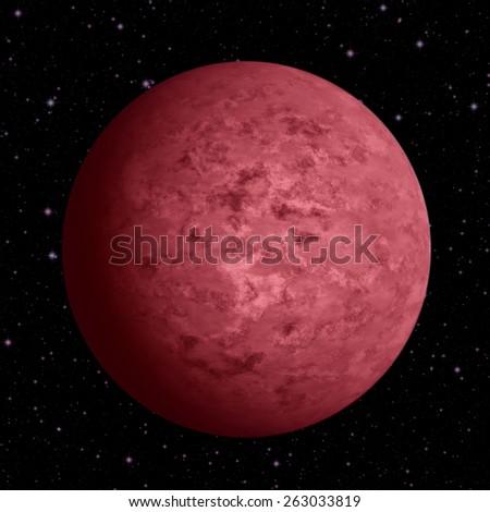 Blood moon - stock photo