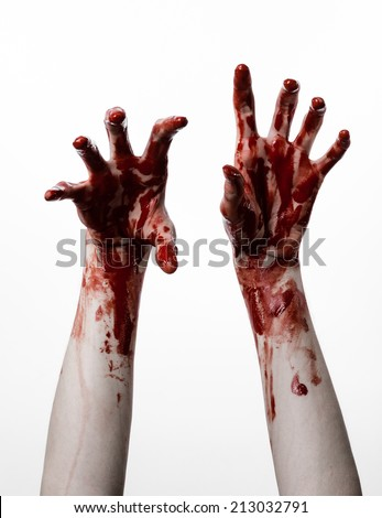 bloody hand stock images royalty free images amp vectors