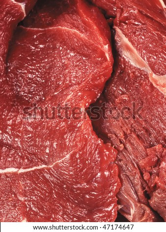 bloody meat background - stock photo