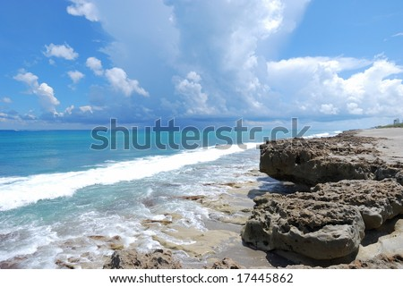 Blowing Rocks Preserve #2 - stock photo
