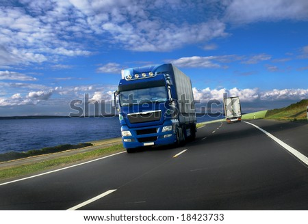 blue - stock photo