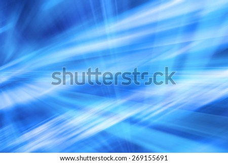 Blue Abstract Art Futuristic Background Design - stock photo