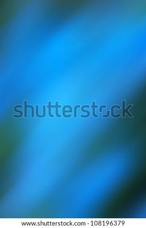Blue abstract background based on a real photo of mine. - stock photo
